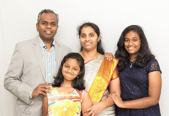 Pastor Charles Finny Family